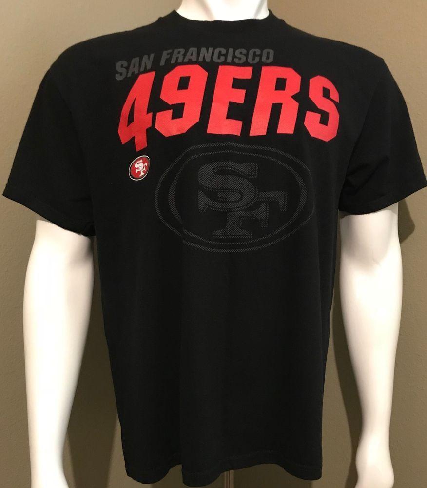 San Francisco 49ERS Team Jersey, Large, 100% cotton, Shirt   San ...