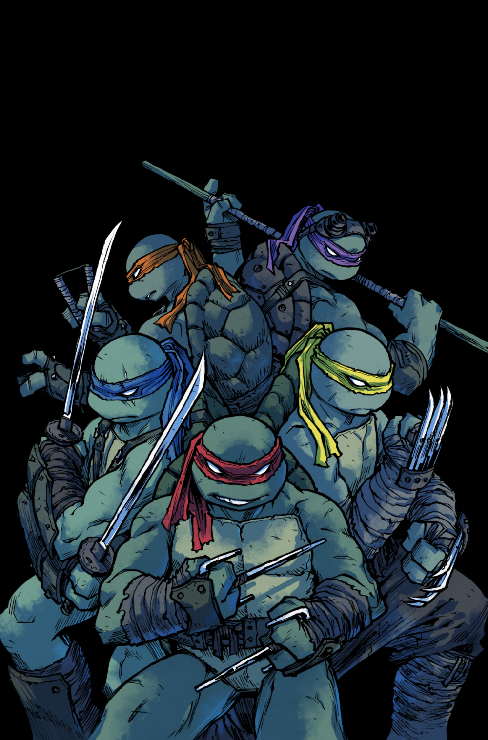 Sophie Campbell Teenage Mutant Ninja Turtles Idw Comics 1186x1800 Wallpaper Wallhaven Cc Ninja Turtles Tmnt Teenage Mutant