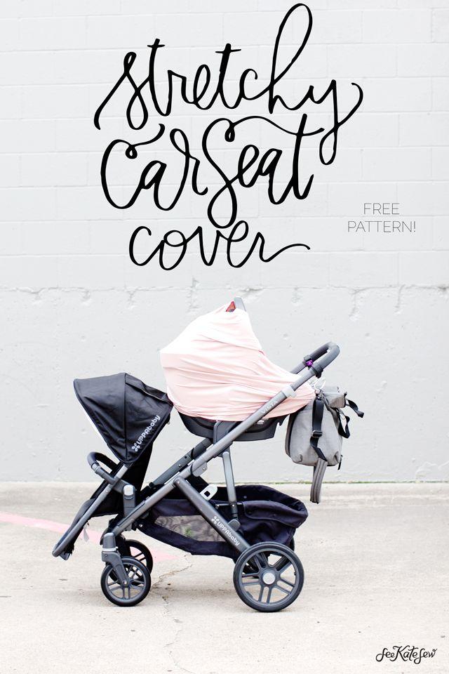 stretchy car seat cover pattern (FREE   Pinterest   Kinder nähen ...