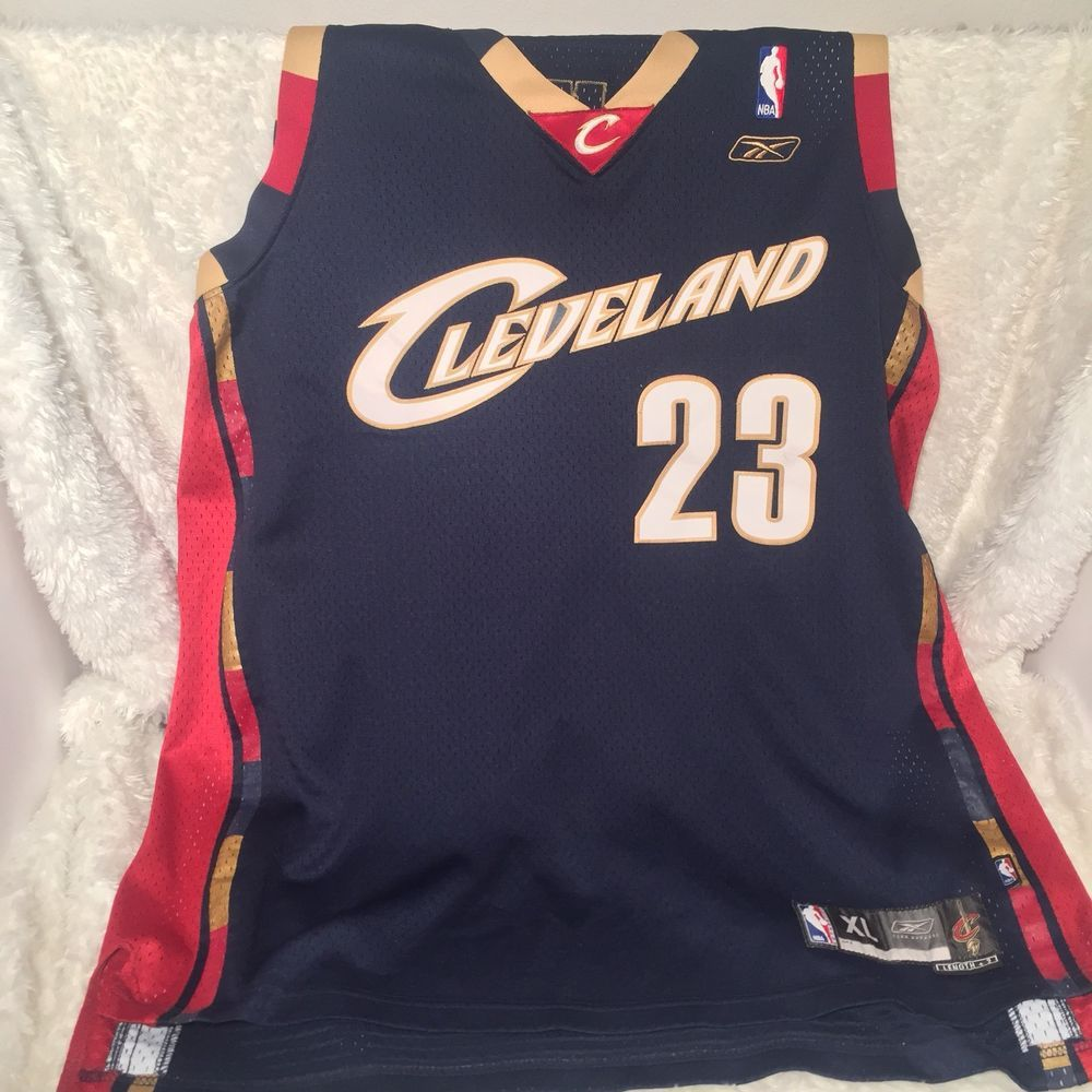 best sneakers 477ba a45dc Details about Reebok Men's NBA Cleveland Cavaliers Lebron ...