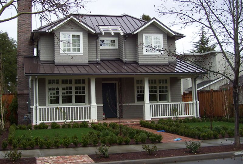 Love Tin Roof And Color Combo Metal Roof Houses Brown Roof Houses Metal Roof Colors