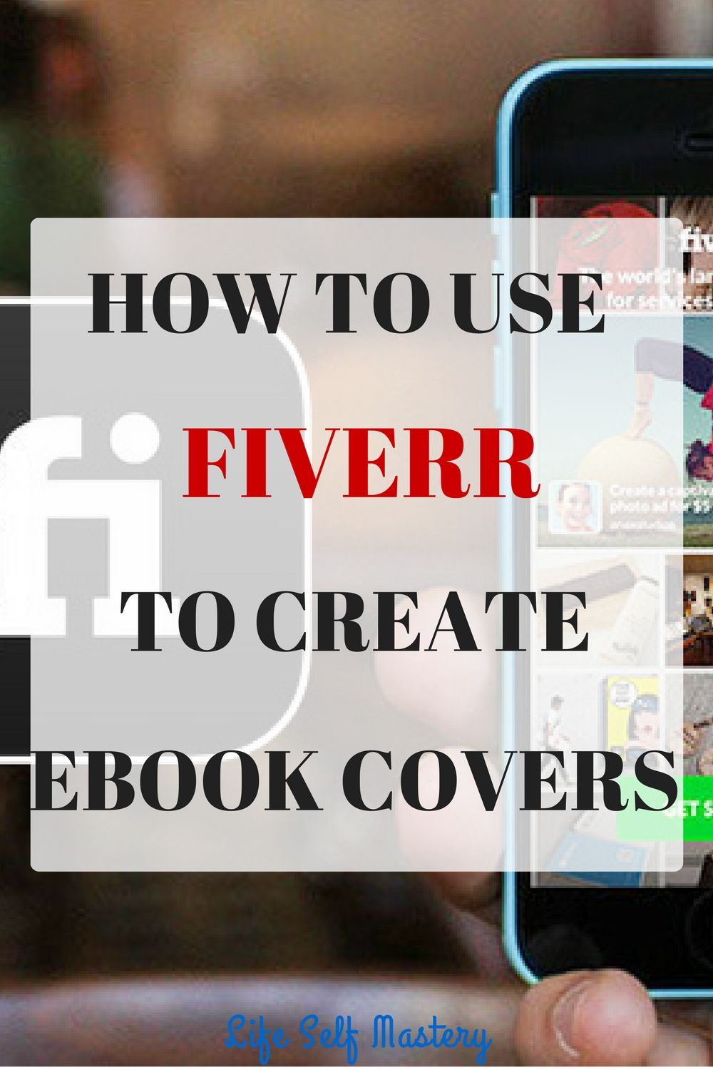 How to use Fiverr to create Ebook covers which will sell