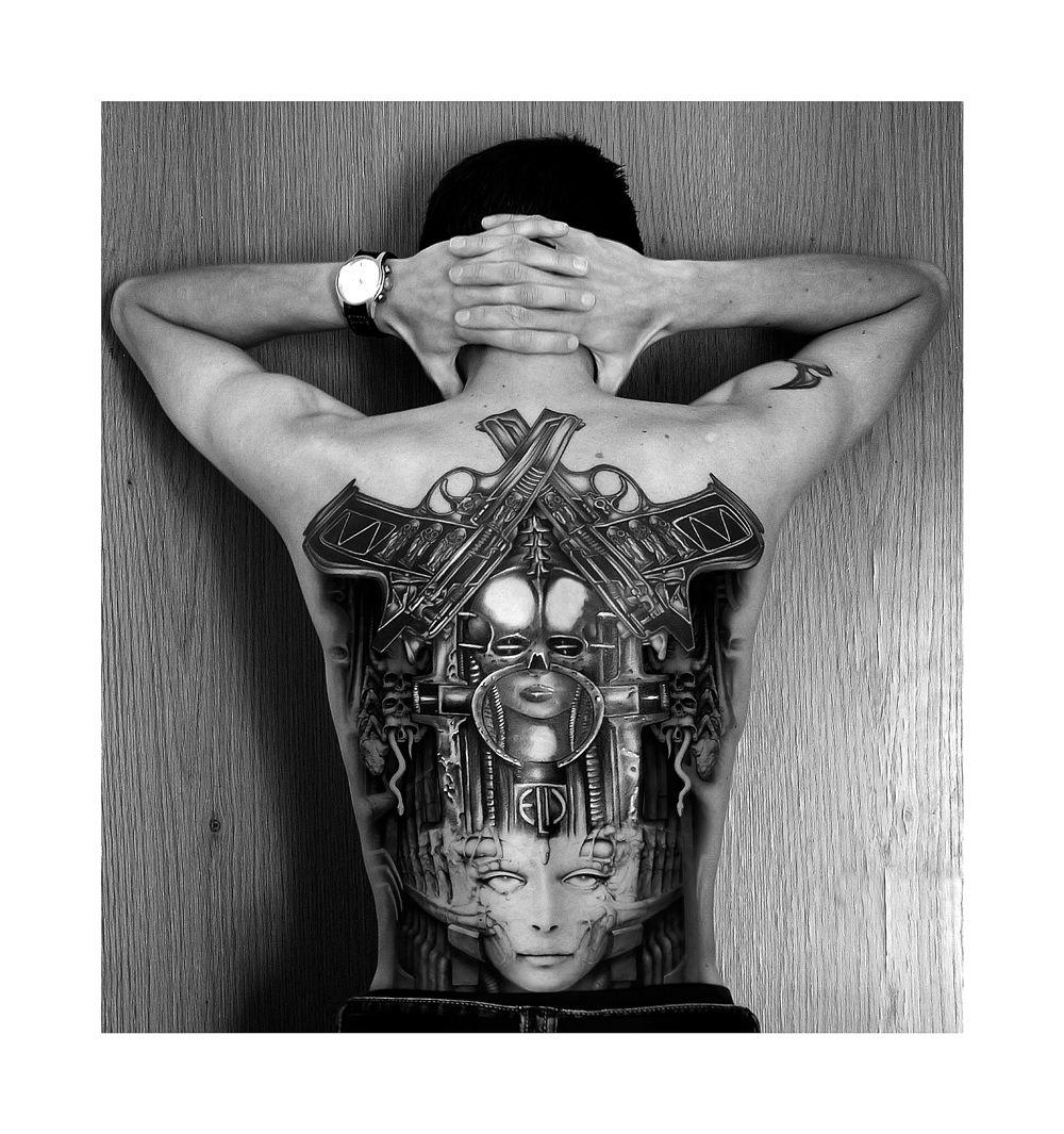 Hr giger tattoo designs - Birthmachines Brain Salad Surgery