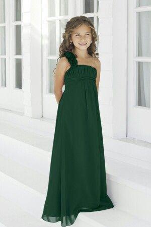 Green Junior Bridesmaid Dresses