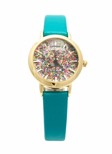 glitter watch kate spade inspired