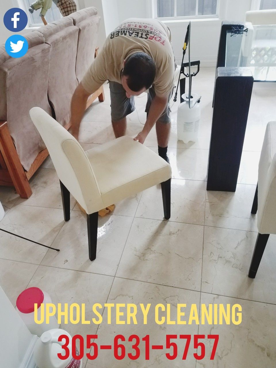 Upholstery Cleaning Coconut Grove 305 631 5757 Https Www
