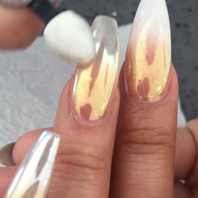 Ombr chrome gold silver design modernpampersalon 8189851920 ombr chrome gold silver design modernpampersalon 8189851920 appointments prinsesfo Choice Image