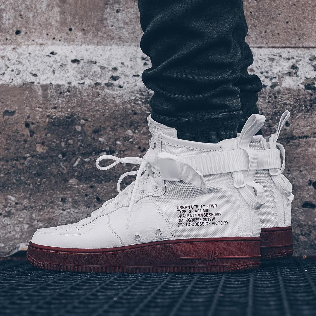 release date: 97c3d 2ed69 Release Date   September 16, 2017 Nike SF AF1 Mid Ivory   Mars Stone Credit    Ruvilla