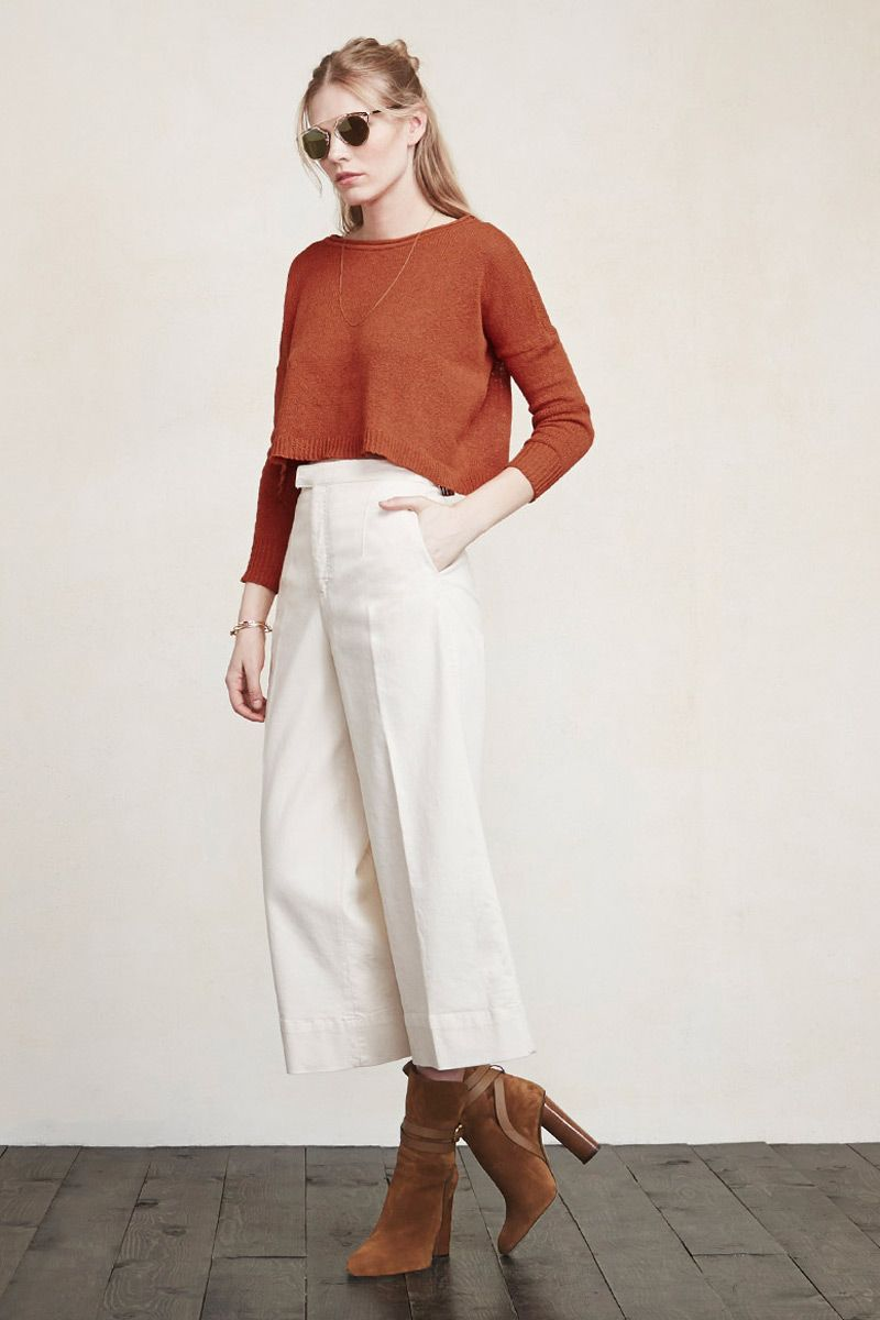 OK it's getting warmer but the nights are still a bit chilly. The Eden Sweater will keep you comfortable and cozy during those transitional moments. This is a lightweight knit sweater with dolman sleeves and ribbing at the cuff and hem.  https://www.thereformation.com/products/eden-sweater-spice?utm_source=pinterest&utm_medium=organic&utm_campaign=PinterestOwnedPins