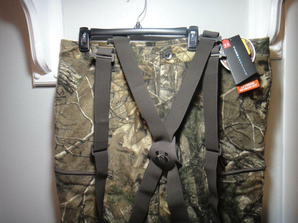 cb8c7a1ac119f Under Armour Realtree Xtra Mens Threadborne Extreme Wool Hunting Camo Pants  XL #Underarmour