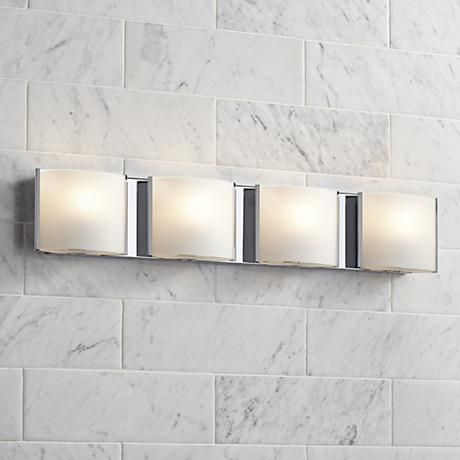 Pleasing This Contemporary Possini Euro Design Bathroom Light Is Home Interior And Landscaping Staixmapetitesourisinfo