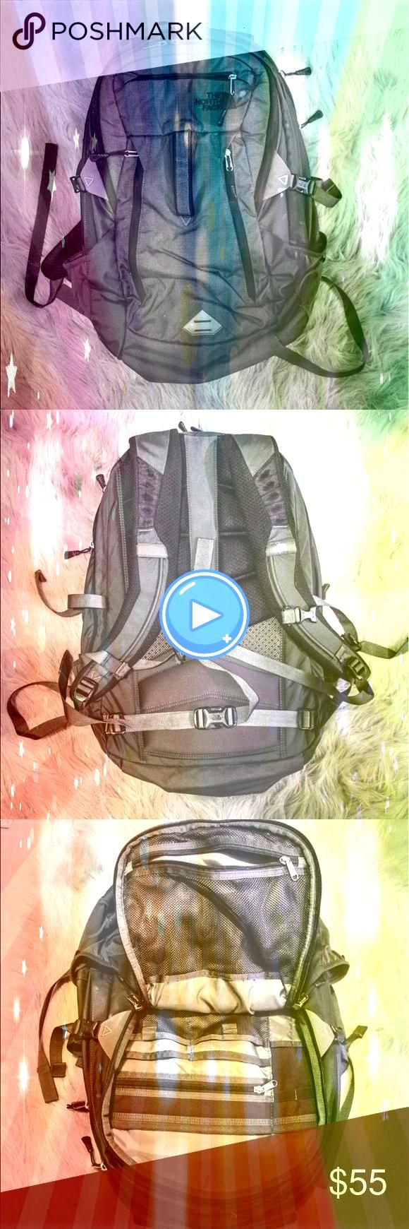Face Backpack Bought from another posher who used it once but it was large North Face Backpack Bought from another posher who used it once but it was large  Eyeshadow  Ma...