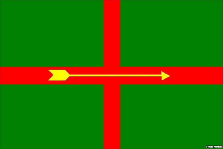 Designs For An Official Nottinghamshire Flag Nottinghamshire Flag Design
