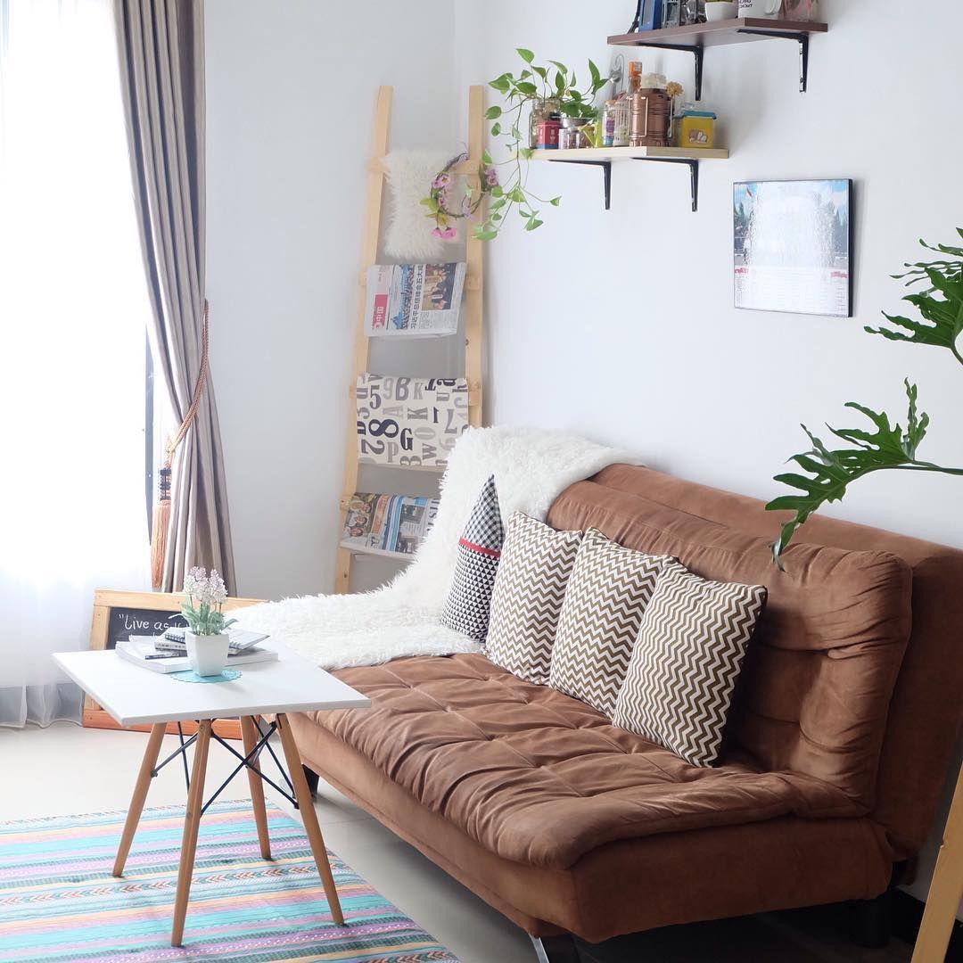 Sofa Ruang Tamu Minimalis  Ruang Tamu Minimalis di 2019