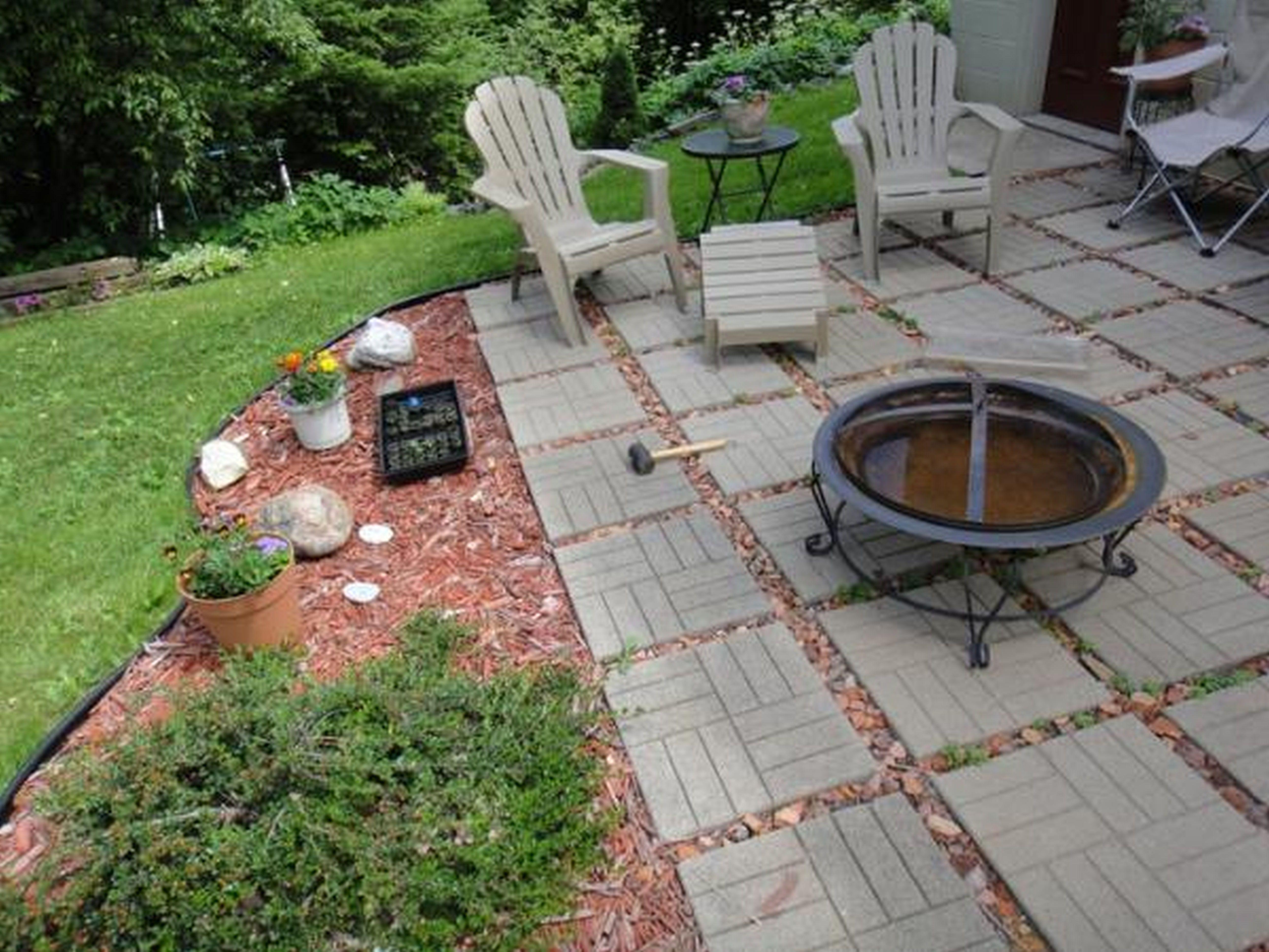 patio landscaping ideas on a budget simple backyard designs cheap rh pinterest com