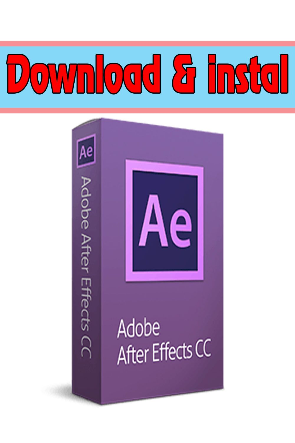 How To Get After Effects Cc 2019 For Free