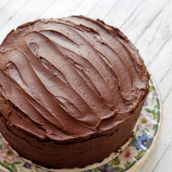 Easy Reicpe Fr Homemade Chocolate Cake