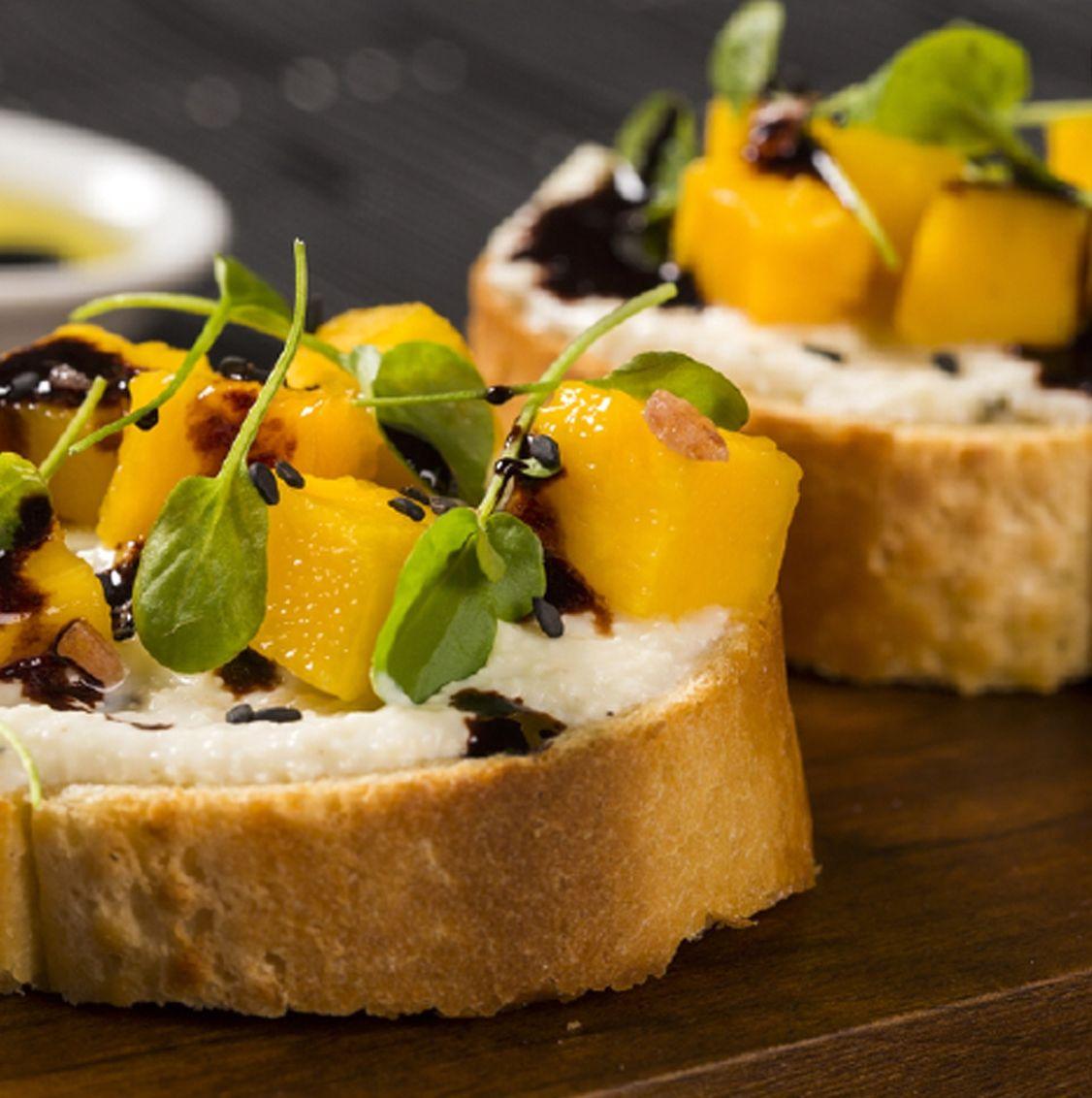 Mango Bruchetta Inspo - Nature's Finest Fruit!