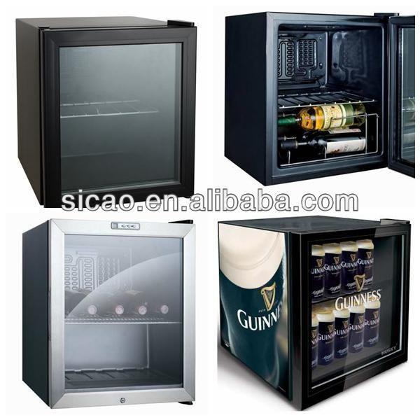 49litres Glass Door Mini Bar Refrigerator Hotel Mini Bar Fridge For Beer Wine Energy Drink Cans 1 109 Bar Fridges Bar Refrigerator Mini Bar