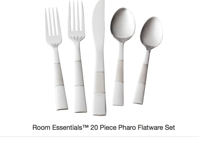Flatware Target Silverware Set Room Essentials Cutlery Set