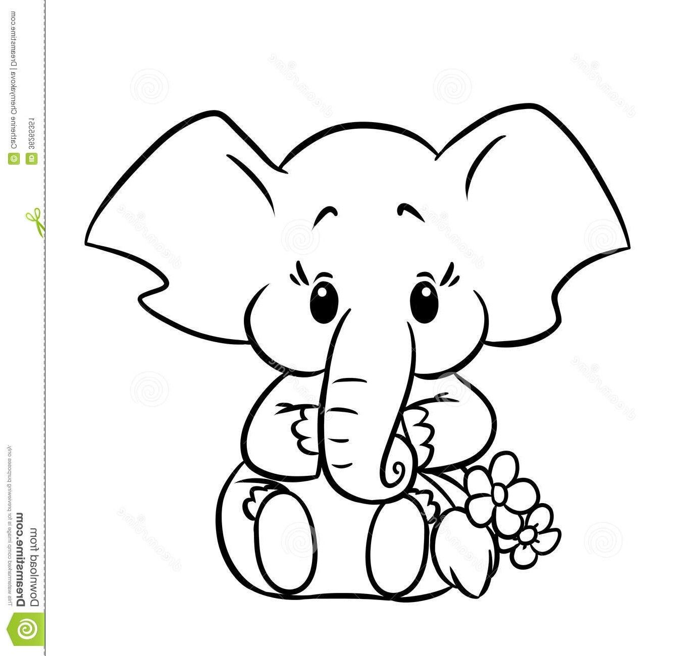 Cute Baby Elephant Coloring Pages 11 5b37f2798c662 Within Cute Elephant Coloring Pages Elephant Coloring Page Animal Coloring Pages Zoo Animal Coloring Pages