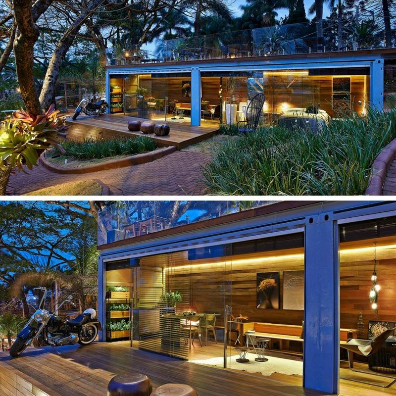 POCKET HOUSE TINY SHIPPING CONTAINER HOME THE CASA CLUB