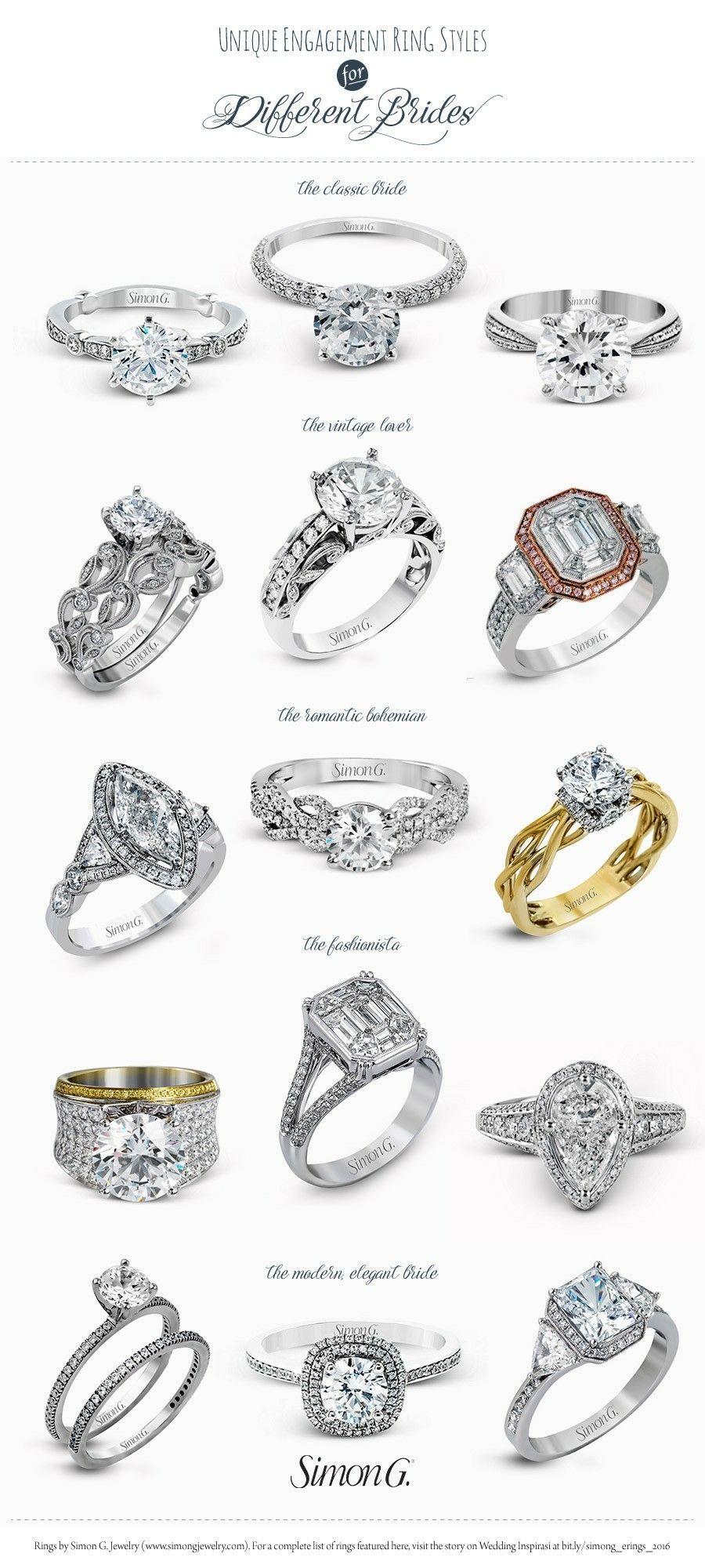 Pin By Jihna Bellows On 3 Wedding Rings Unique Vintage Wedding Ring Styles Engagement Ring Styles