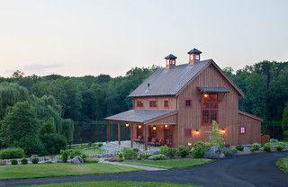 Country Retreat - Farmhouse - Exterior - dc metro - by Rill Architects