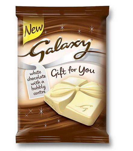 Galaxy Gift For You White Chocolate Christmas Chocolate