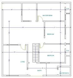 40 by 36 plat plan 900 square feet 27 x 36 ft site east facing