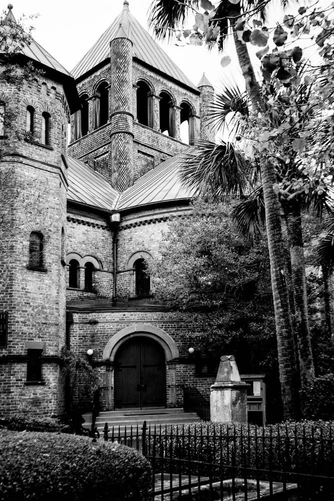 Circular Congregational Church in Charleston, South Carolina