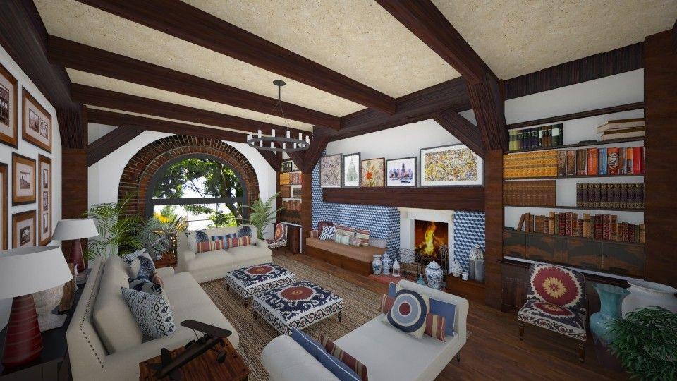 Fireplace Living Room By Maja97 Rustic Living Room Living Room With Fireplace Fireplace #rustic #living #room #with #fireplace