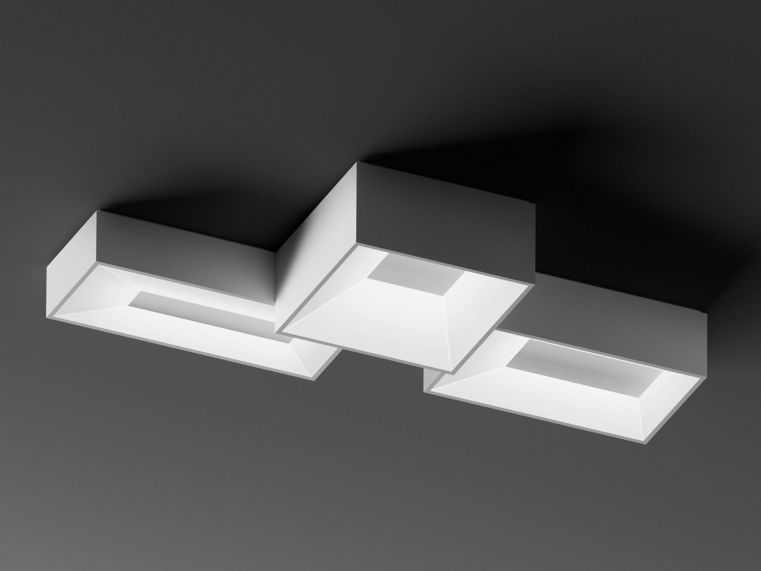 Lámpara de techo modular LINK by Vibia diseño Ramón Esteve