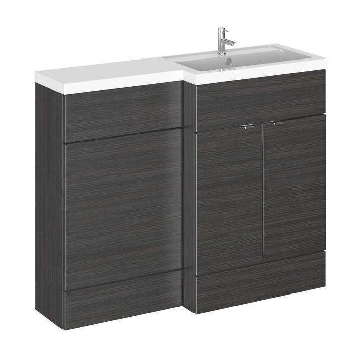 El elegante conjunto de mueble para cuarto de baño incluye ...
