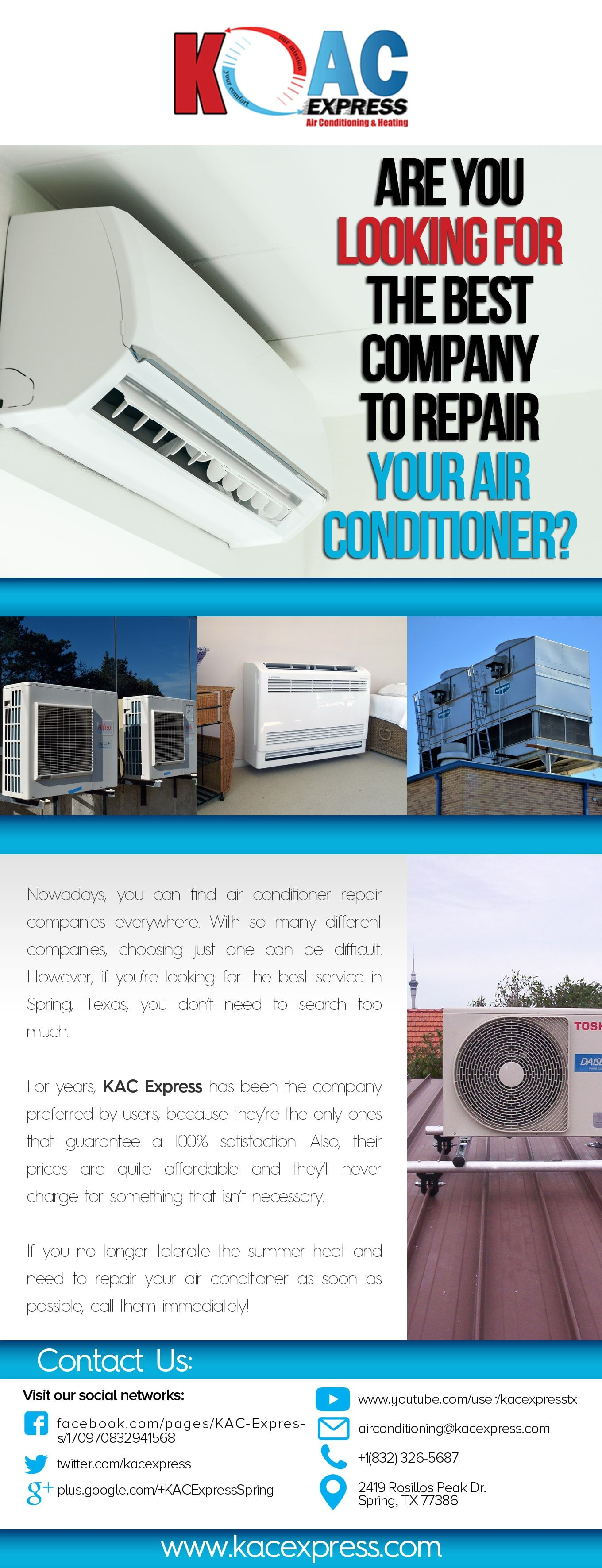 KAC Express Your Trusted HVAC Contractor in Spring