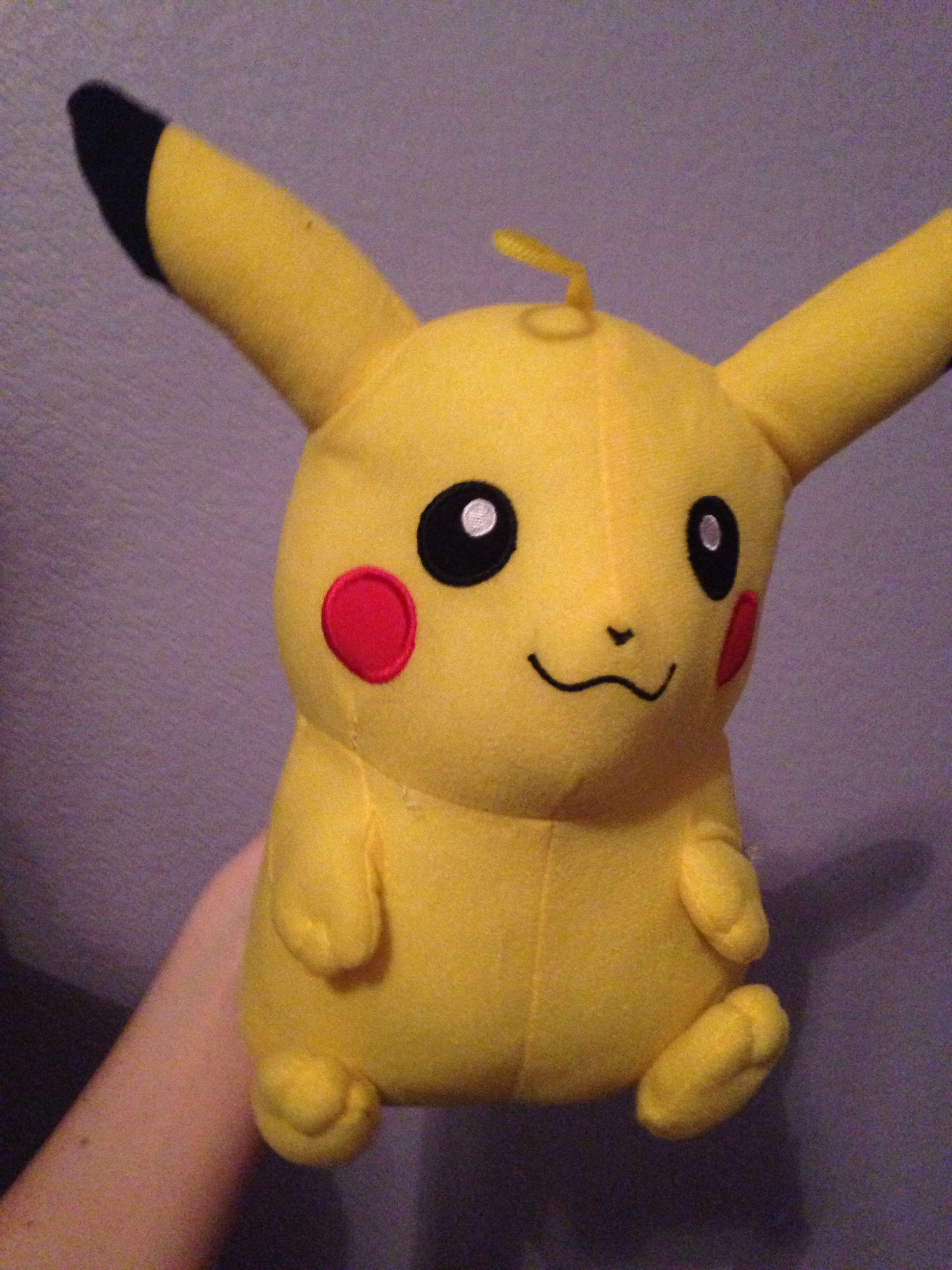 New pikachu stuffed animal! Pokemon, Pikachu, Ds games
