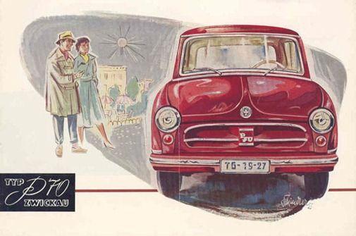 AWZ Zwickau Mini Car Mini, Ddr und Autos