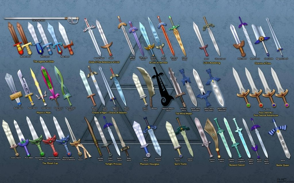<b>Seventeen games, 63 swords, one silent and good-natured elf.</b>