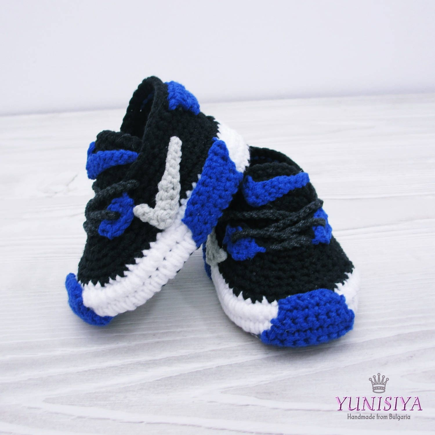 Crochet Baby Shoes Baby Street Shoes Nike Baby Booties Athletic