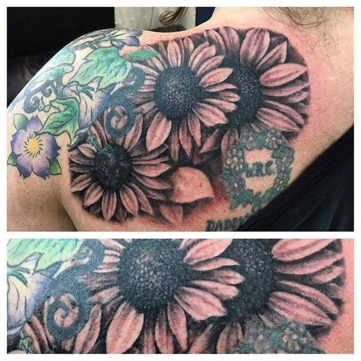 1356 flower tattoo idea images that mention flower
