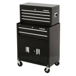 Husky 26 In 6 Drawer Tool Chest And Rolling Tool Cabinet Set