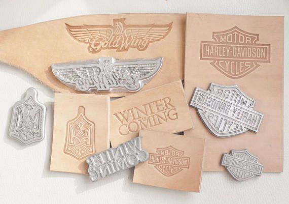 Custom leather stamp For leather crafts Cutting Tools