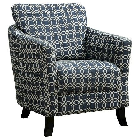 Best Monarch Specialties Upholstered Chair Blue Accent 400 x 300