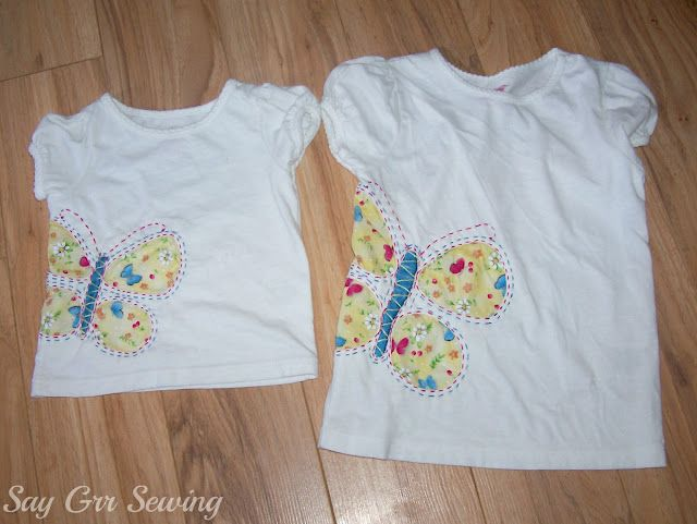 Say Grr Sewing: Butterflies and Skorts