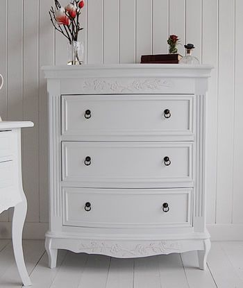 Daisy White Chest Of Drawers   White Bedroom Furniture