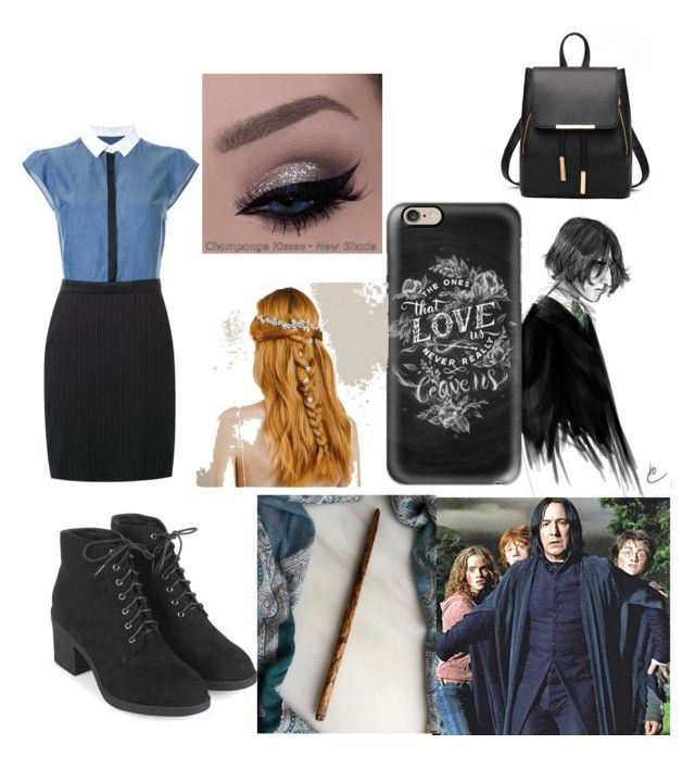 """""""Job Interview"""" by ashtonsgirl-5soslover on Polyvore featuring Guild Prime, Topshop and Casetify"""