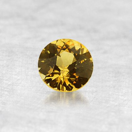 4.5mm Yellow Round Sapphire from Brilliant Earth