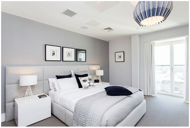 How To Build A Focal Wall Headboard Gray Master Bedroom Grey