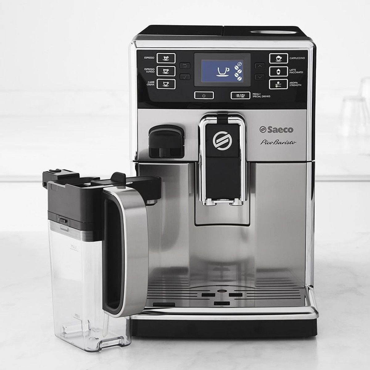 Saeco PicoBaristo Espresso Maker with Milk Carafe