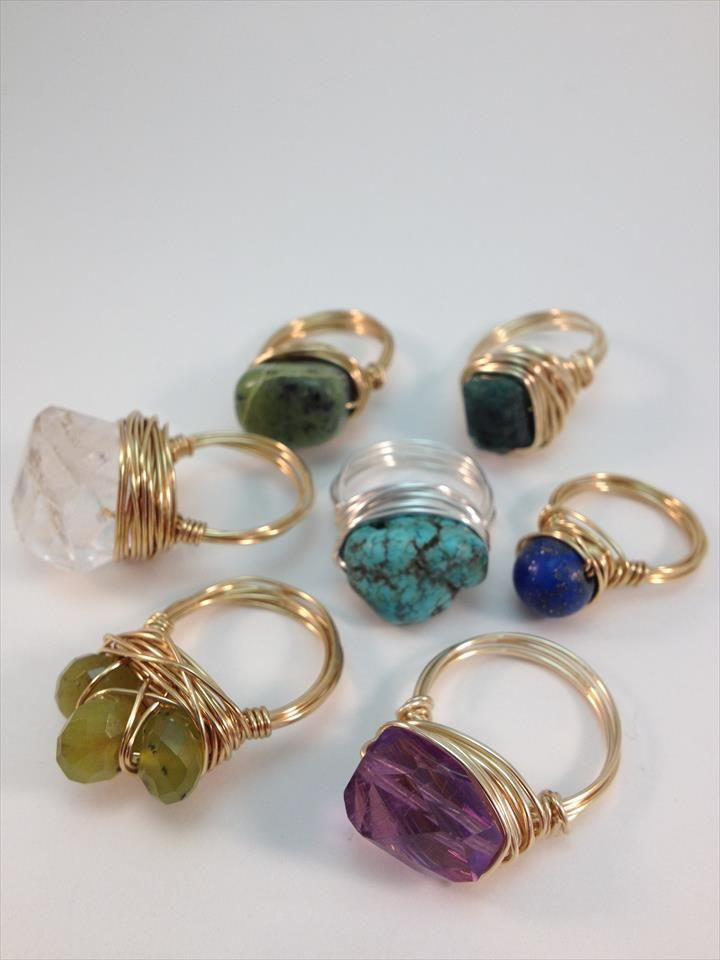 Photo of 10 DIY Beautiful Wire Rings – You Can Try These – DIY Wire Wrapped Ring …